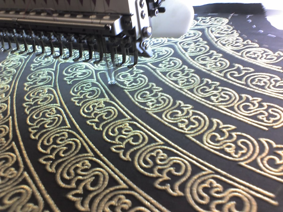 Examples Extra Large Embroidery In Perivale And West London