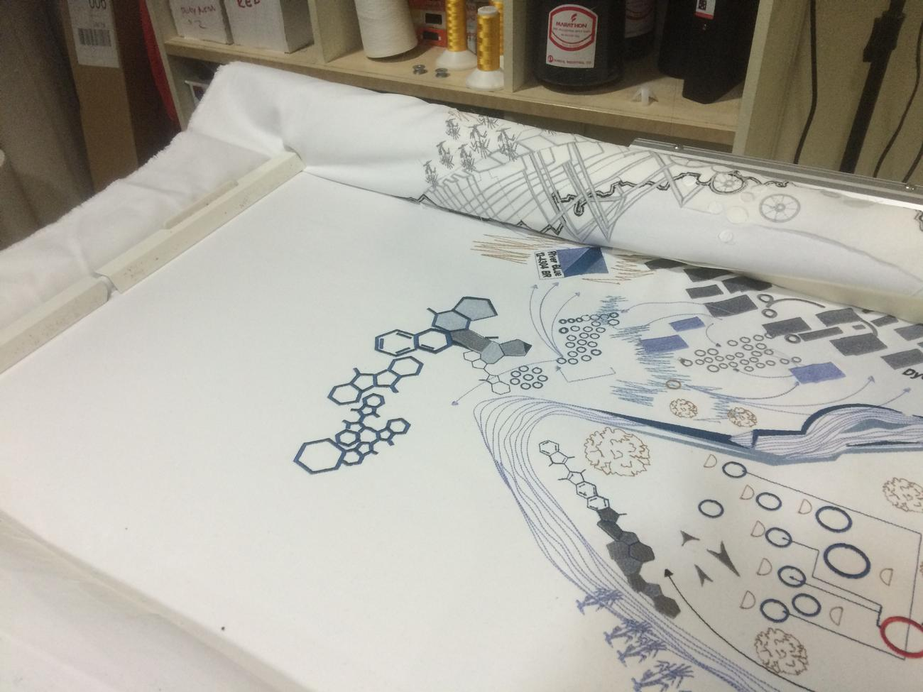 Architects plans extra large embroidery in perivale and west london